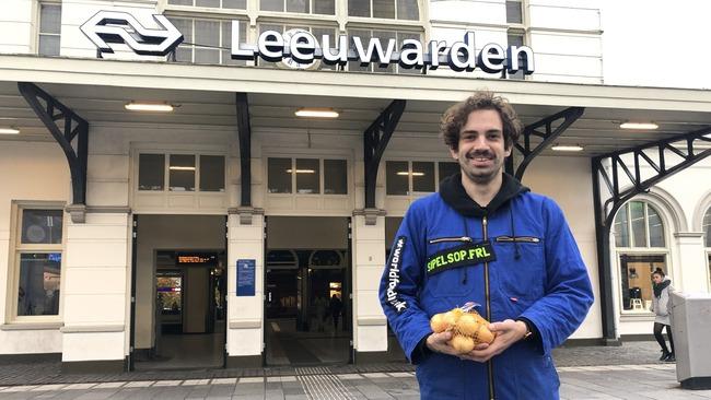 #Sipelsop op Leeuwarden centraal